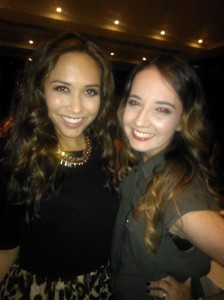 Grenglish - MAD Blog Awards - Myleene Klass and Alice Harold
