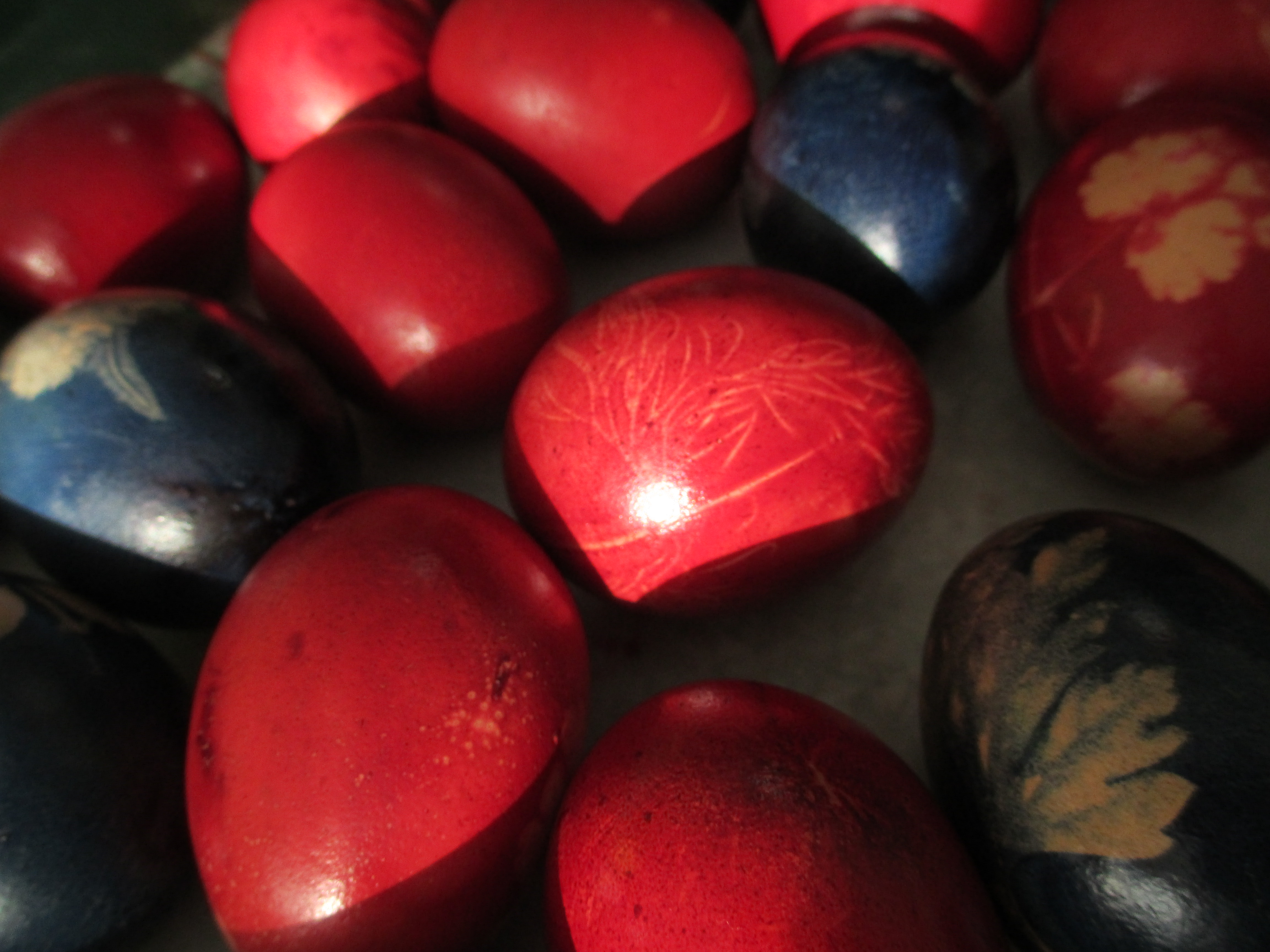 red eggs for Greek Easter