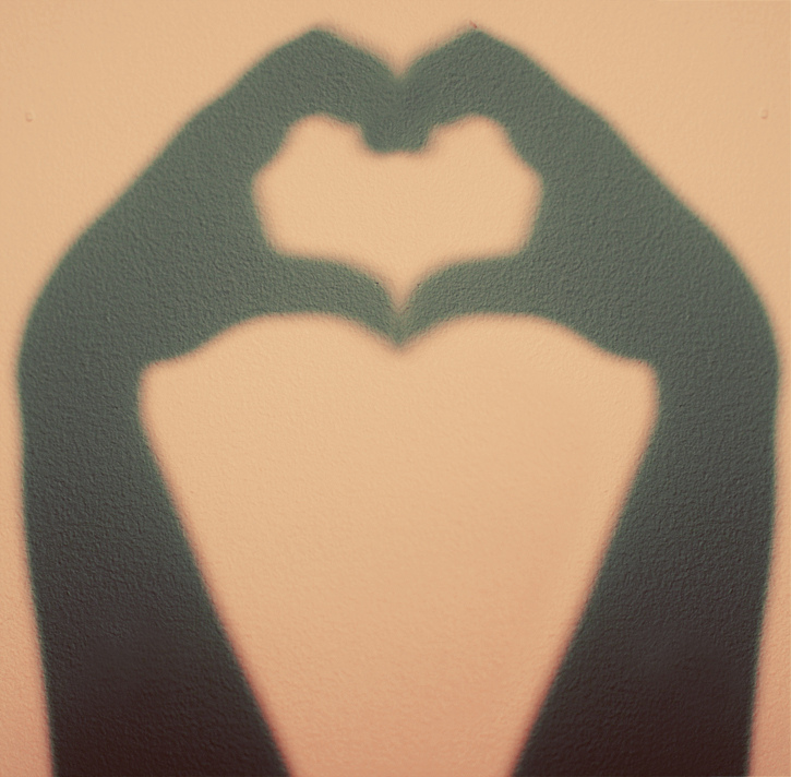 heart shadow